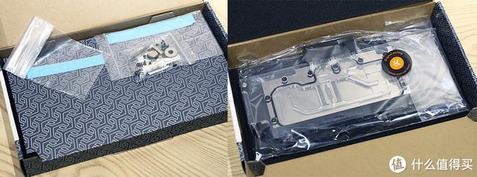 EK-FC RTX 2080 +Ti Classic RGB / Backplate Classic 内包装及配件