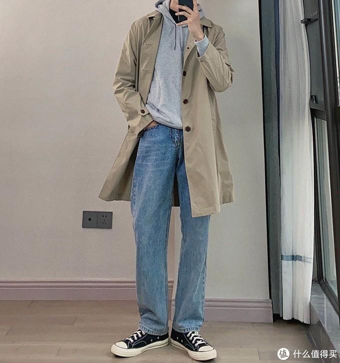 秋季如何少花钱,只买简单的优衣库单品,照样可以叠穿的帅气又有型