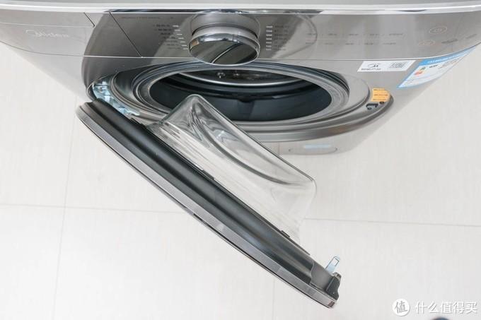 入手美的直驱洗烘一体机,第五代东芝直驱技术,平稳静音,每天多睡一小时!