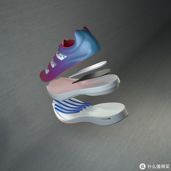 adidas黑科技?中底的仿生脚趾骨! —— adizero adios PRO
