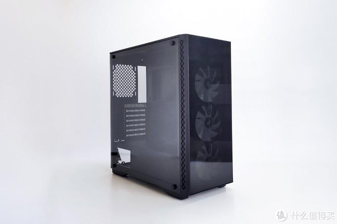黑白配,九州风神玄冰50配七彩虹CVN z490 Frozen主板