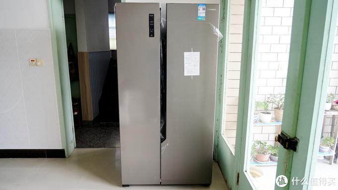 抗菌防串味,大容量节能又好用-给爸妈选的海信食神592升对开门电冰箱晒