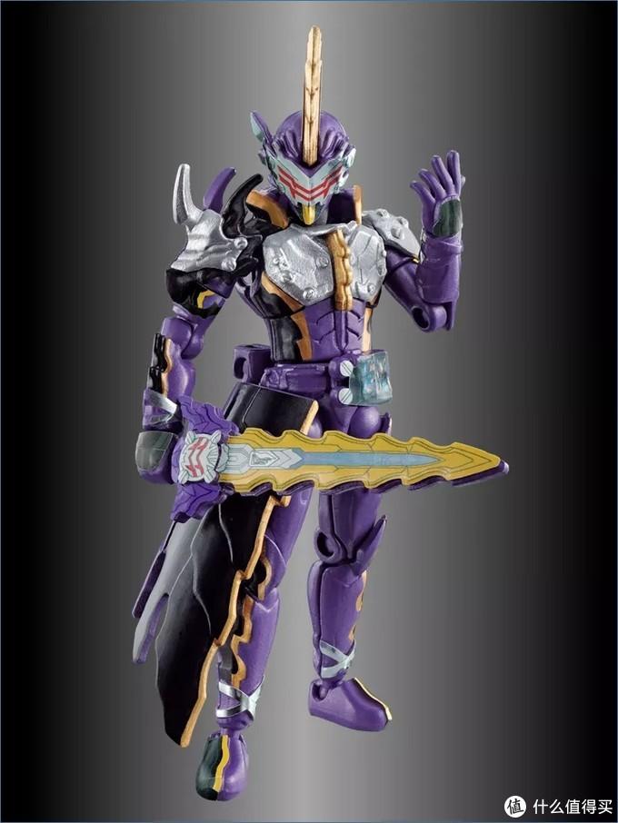 《假面骑士圣刃》装动:假面骑士王剑,暗之剑士展示