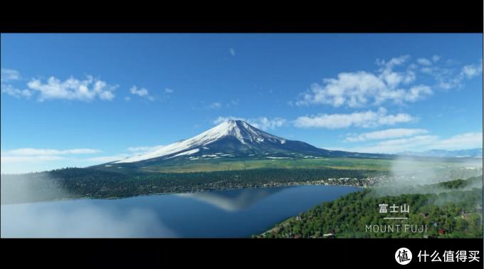 《微软飞行模拟》2020版下以假乱真的富士山截图
