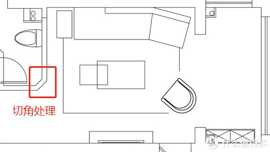 △ 客厅平面图