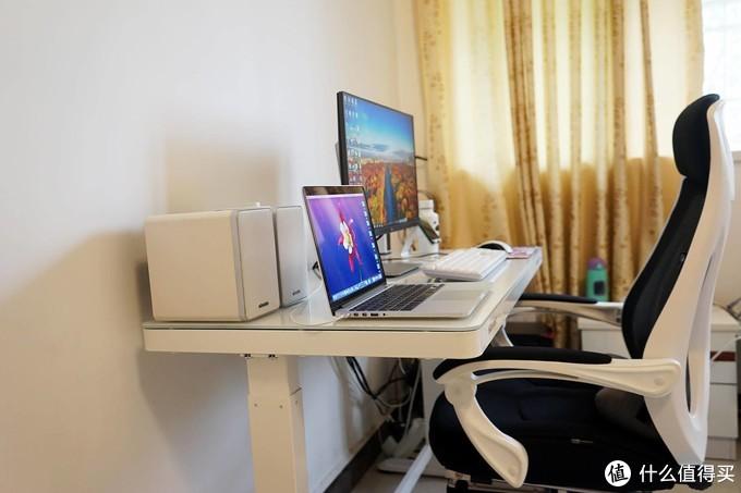 再也不用久坐办公了,远离亚健康,乐歌E5电动升降桌体验!