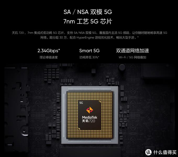 不足一千的5G新机:realme还发布Q2i,搭天玑720、5000mAh大电池