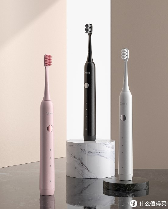 让笑容更美 美的电动牙刷陪你一点点净白