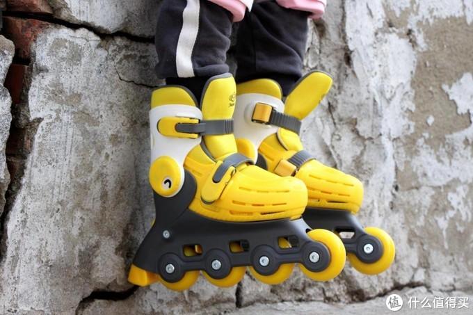 激发运动潜能,陪伴美好童年:柒小佰小怪兽轮滑鞋评测