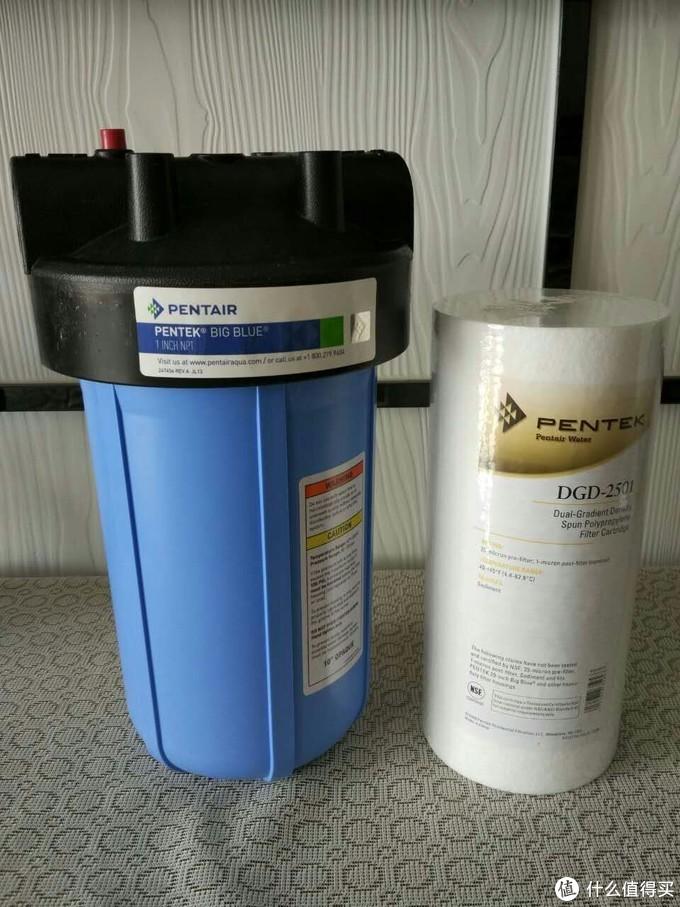 10寸工业蓝瓶+PP滤芯