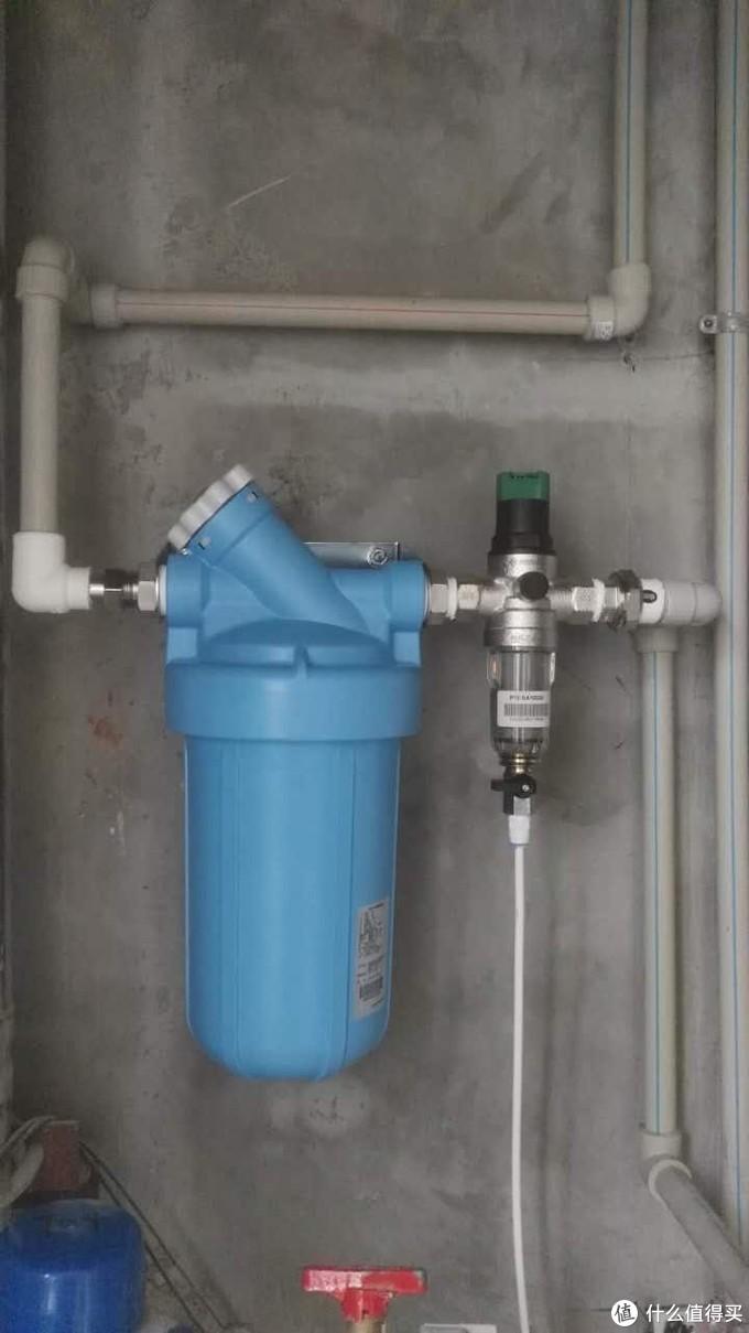 滨特尔10寸民用版蓝瓶型号BF35-H三个滤芯型号可以选择