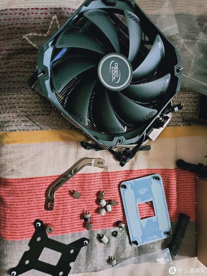 超值风冷散热器:九州风神(DEEPCOOL) AS500 Plus