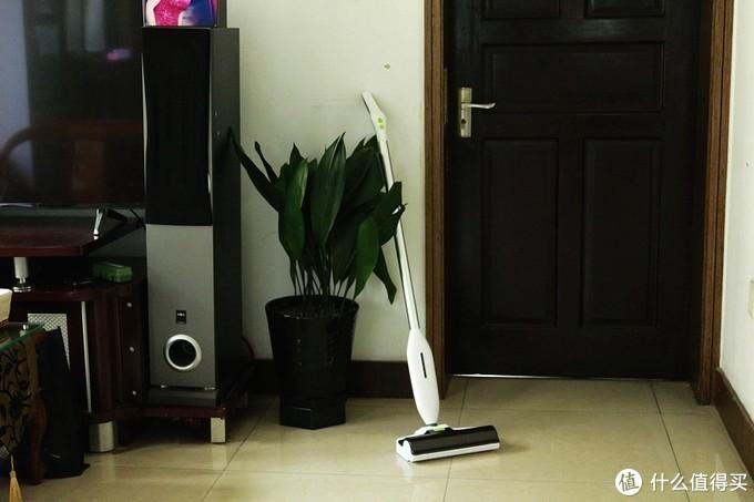 懒人必备 扫拖一体 BEHOW无线电动手持洁地机