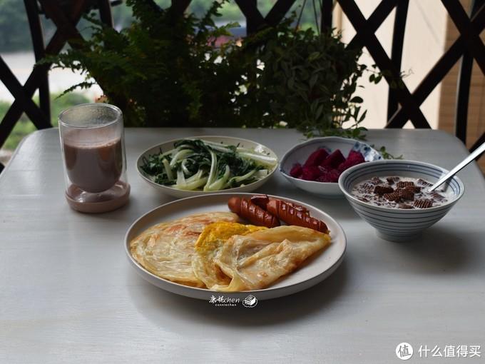 早餐自己做吃得就是舒心,这道一周几次吃不够