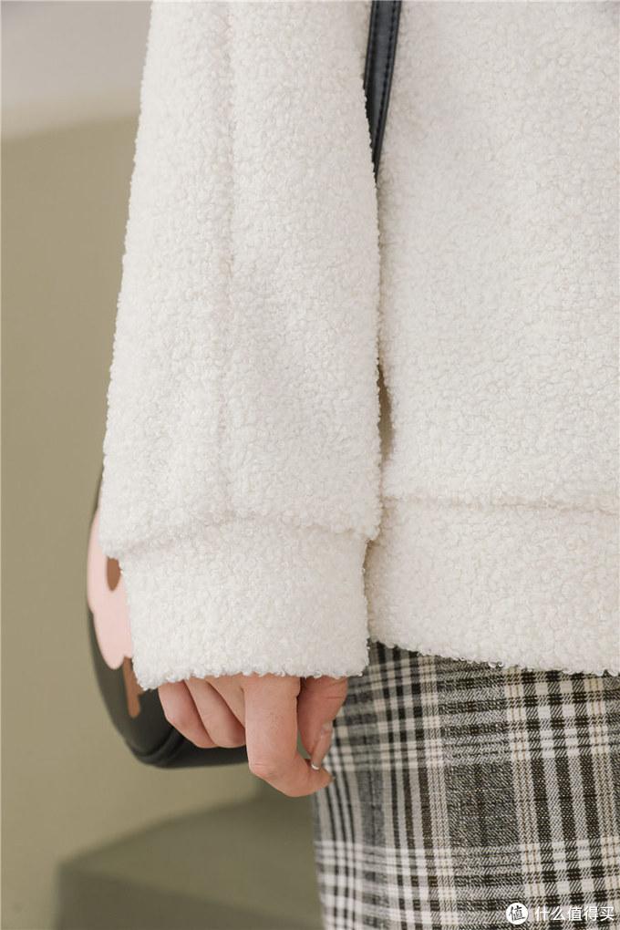 双十一平价保暖羊羔毛卫衣女推荐