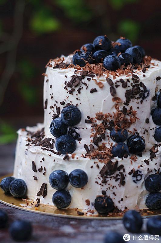 在家做个生日蛋糕,丑得我自己都不敢看