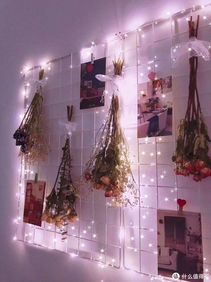 铁网格网墙装饰物架壁挂式卧室