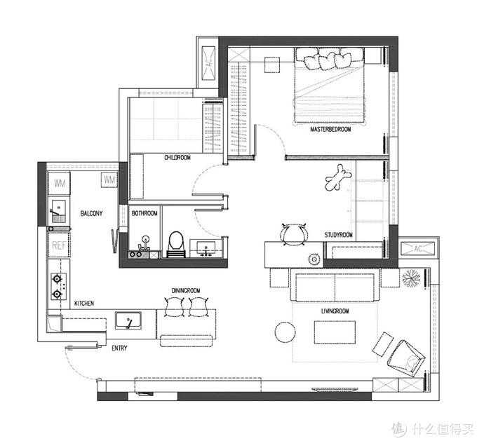 成都夫妻晒出新家,仅有87㎡,多了一个设计,让家住出100㎡开阔感