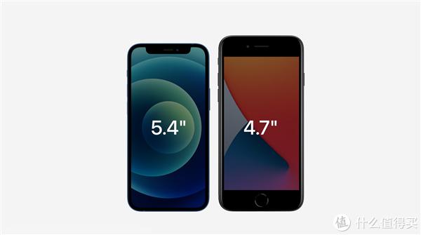 iPhone 12 mini 对比iPhone 8