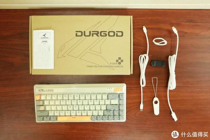 复古风机械键盘?杜伽Fusion这风格你爱了吗?
