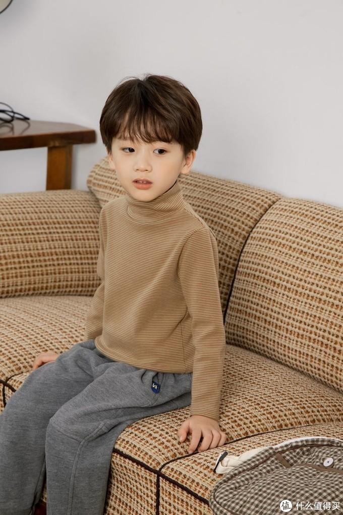 萌娃穿搭|超舒适超好看的条纹打底衫