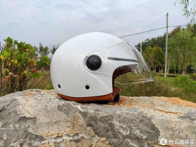 骑士初心 安全出行 骑士复古头盔开箱体验