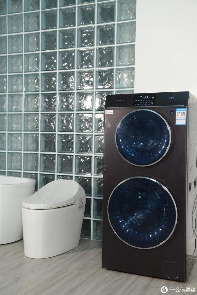 卡萨帝双子云裳双筒洗衣机,衣物清洁新体验