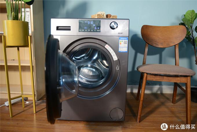 智能简化生活,懒人最爱,海尔墨盒洗烘一体滚筒洗衣机