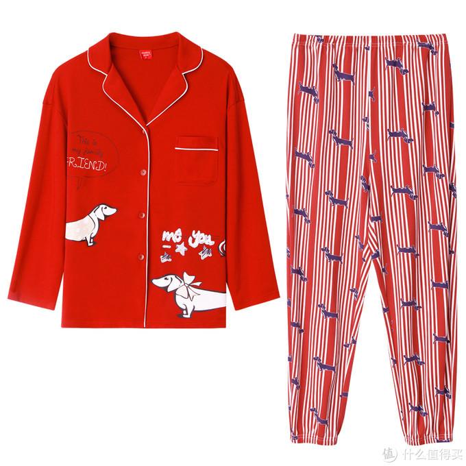 雪仙丽时尚秋季家居服,享受窝在家里的温暖