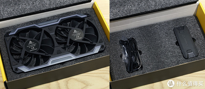 Antec(安钛克) Prizm Cooling Matrix RGB风扇 内包装及配件