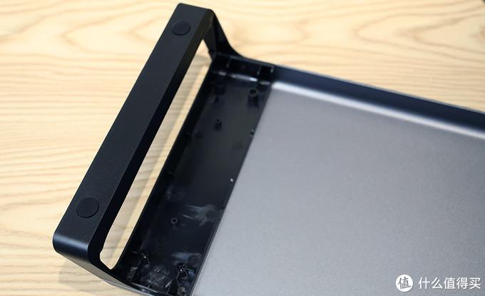 奥睿科(ORICO)铝合金电脑显示器增高架 底部细节