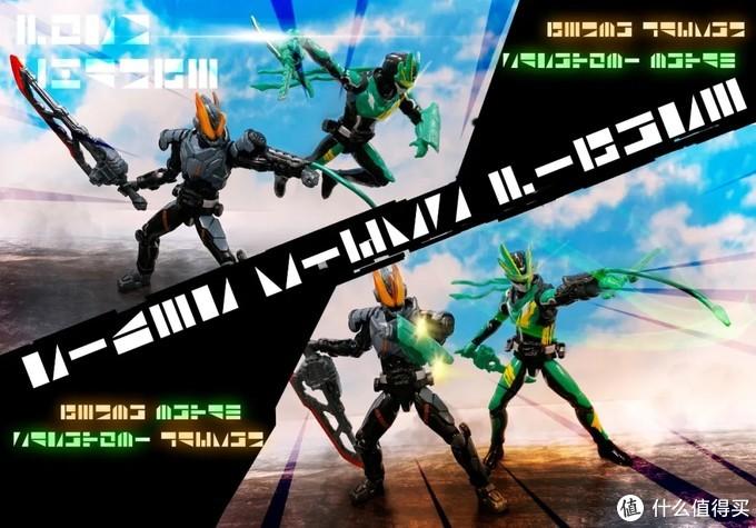 《假面骑士圣刃》敏捷的疾风剑士,假面骑士剑斩RKF展示
