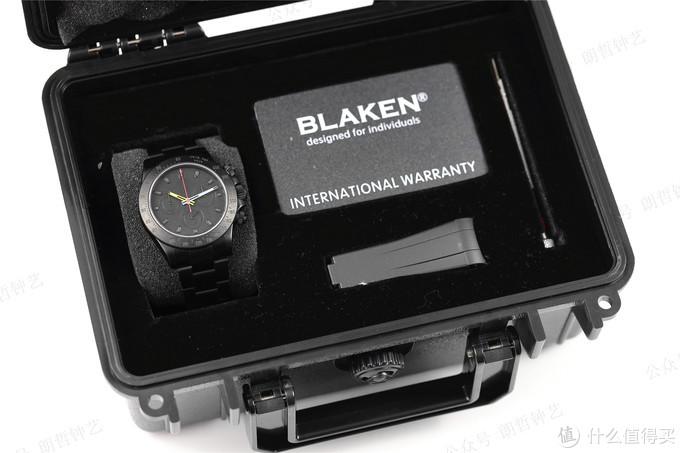 朗哲钟艺:劳力士迪通拿全黑演绎,改装腕表新案例BLAKEN迪通拿