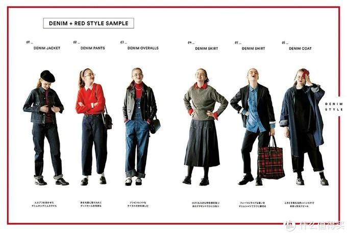 """今年秋冬流行""""牛仔+红色"""",轻松穿出时髦与高级,值得学习!"""