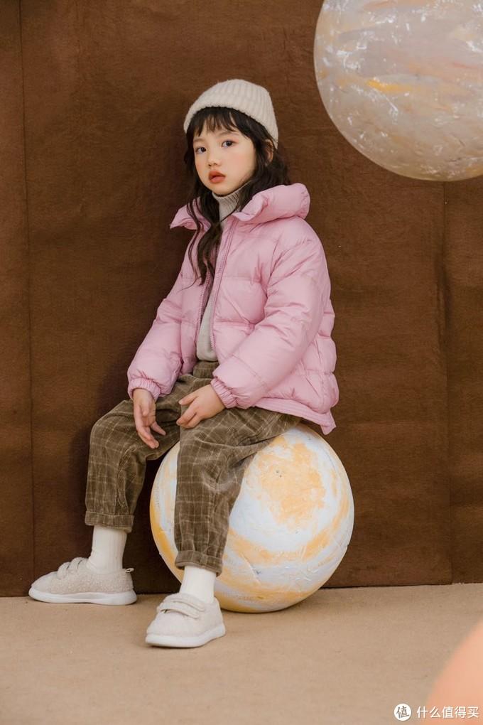 萌娃穿搭|灯芯绒质感超舒适的格子裤