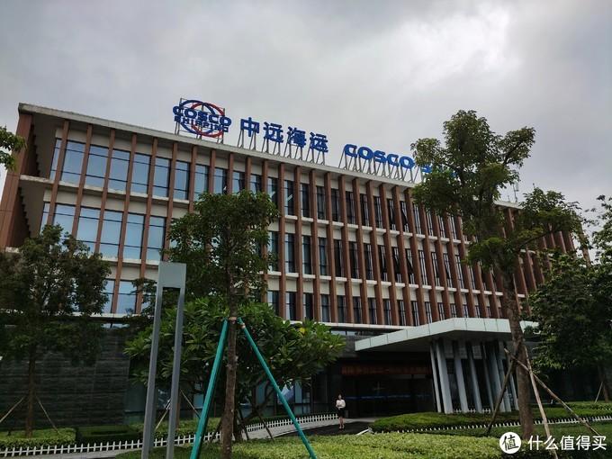 因为现在亚洲论坛酒店隶属于中远集团COSCO,后来又见了一个办公大楼,看来在这边的规划又有新进展。