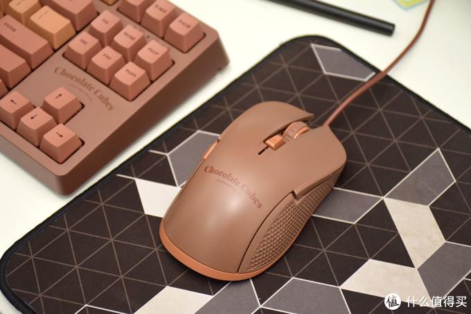 外设CP,给你双份甜蜜——黑爵巧克力游戏鼠标晒物