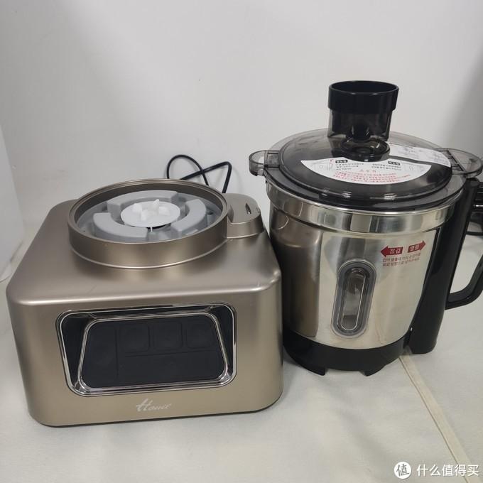 有了韩一搅拌机=料理机+搅拌机+破壁机+榨汁机+原汁机