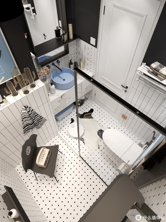 现代风格浴室|不能拒绝的极简淋浴房✨