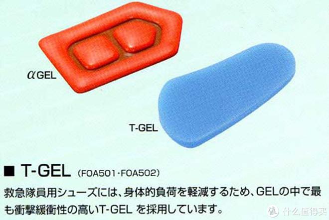 T-GEL科技材料被广泛采用于各种跑鞋
