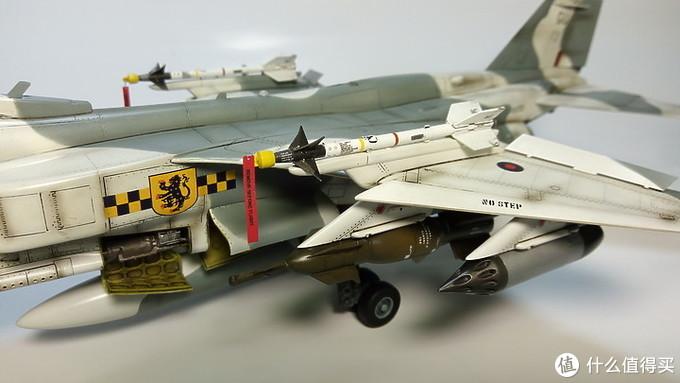 """【我的收藏模型-飞机模型-美洲豹攻击机/】-""""生活再苦我也要活的精彩"""