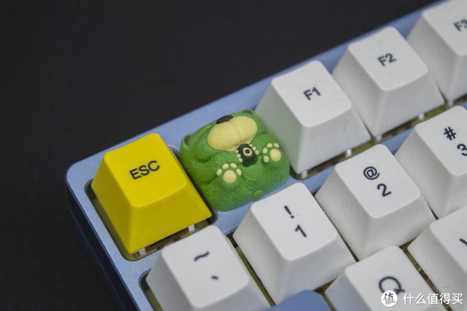 树脂奶熊个性键帽晒图