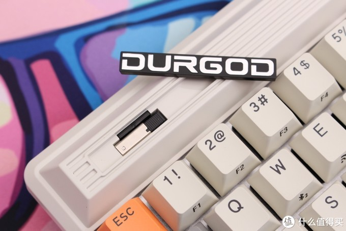 浓郁的复古风潮——杜伽FUSION ORIGINAL 三模机械键盘开箱体验