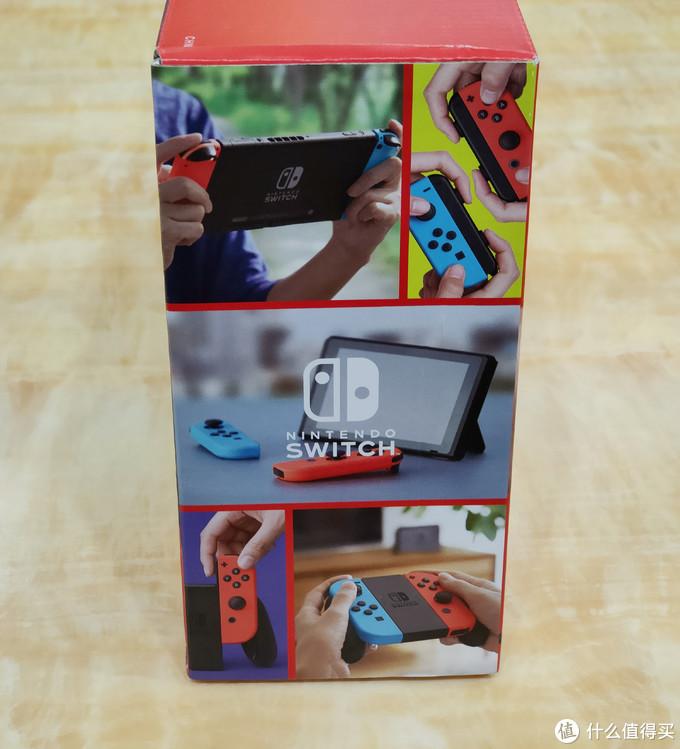 送老三18岁的生日礼物,任天堂游戏机Nintendo Switch腾讯国行版开箱简晒