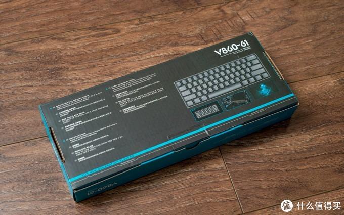 小键盘针不戳——雷柏V860 61配列机械键盘开箱