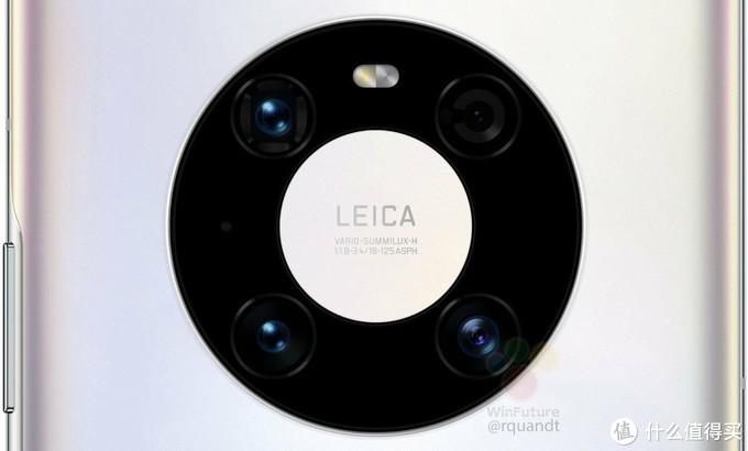 华为预告暗示Mate 40圆环摄像头拍照升级:尽收一镜