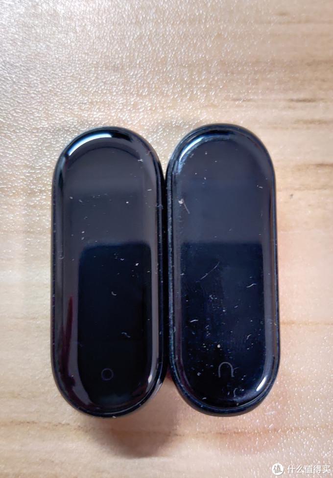 小米手环5简单开箱兼对比小米手环4