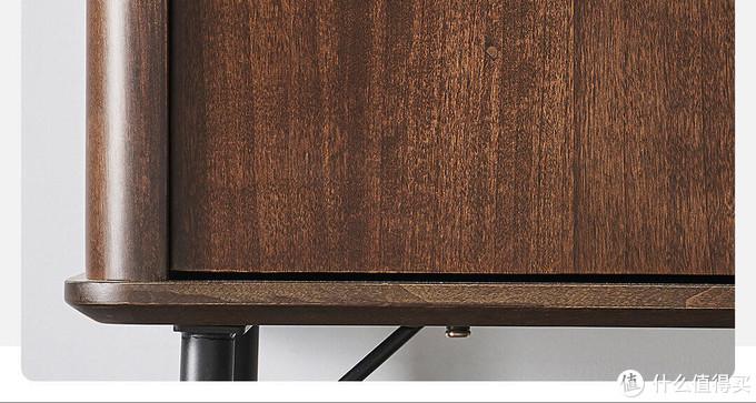 轻奢兼顾实用,小米有品上新优梵艺术鹿特丹黑胡桃色书柜