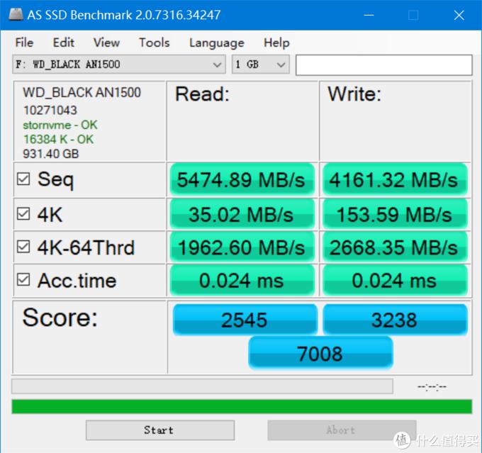 WD_BLACK AN1500 SSD 评测作业:狂飙 6500MB/s,快过 PCIe 4.0
