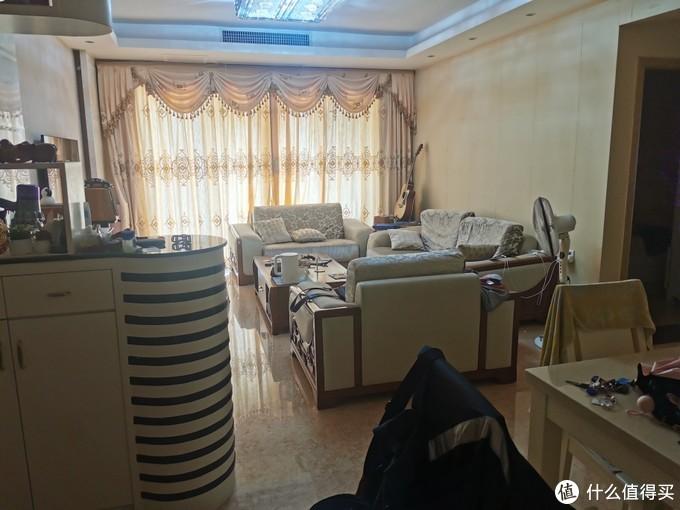 旧布艺沙发